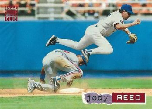 1994 Stadium Club #13 Jody Reed VG Los Angeles Dodgers