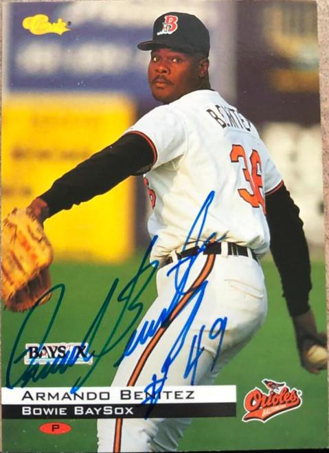 Armando Benitez Autographed 1994 Classic #52