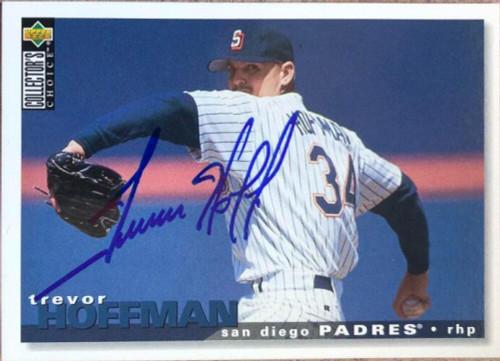 Trevor Hoffman Autographed 1995 Collectors Choice #355