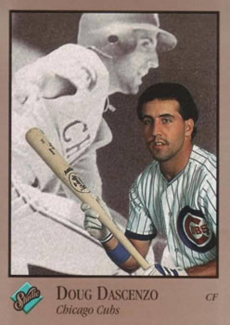 1992 Studio #11 Doug Dascenzo VG Chicago Cubs