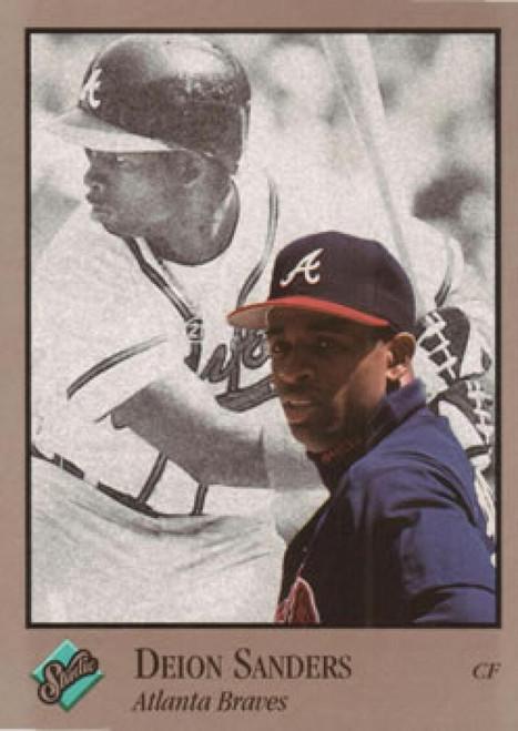1992 Studio #9 Deion Sanders VG Atlanta Braves