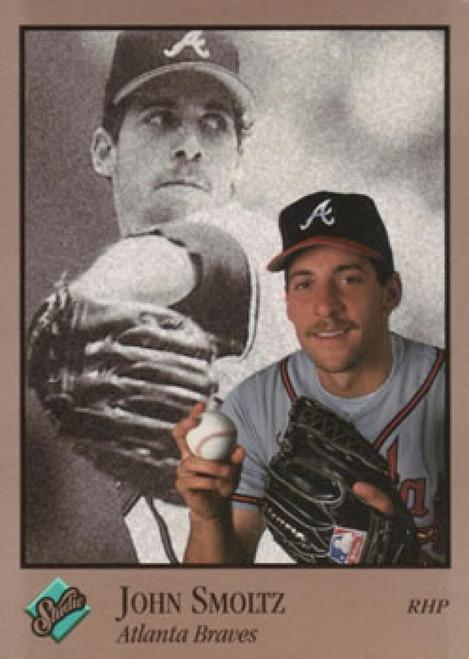 1992 Studio #10 John Smoltz VG Atlanta Braves