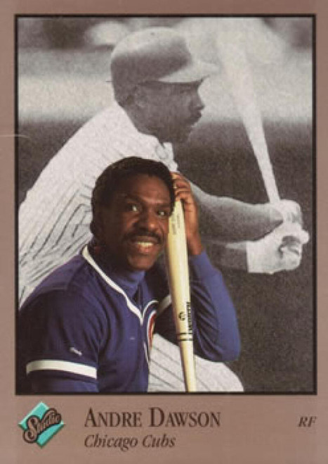 1992 Studio #12 Andre Dawson VG Chicago Cubs