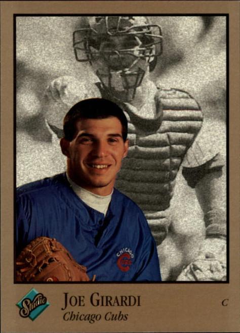 1992 Studio #13 Joe Girardi VG Chicago Cubs