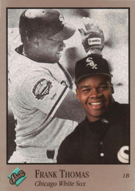 1992 Studio #159 Frank Thomas VG Chicago White Sox
