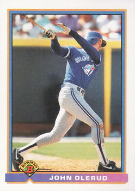 1991 Bowman #7 John Olerud VG Toronto Blue Jays
