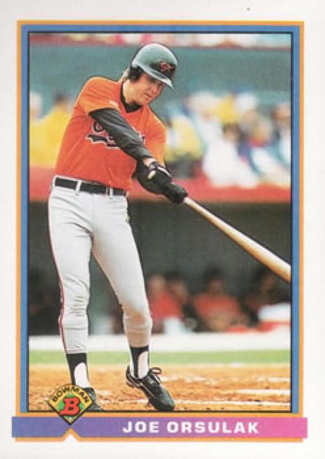 1991 Bowman #84 Joe Orsulak VG Baltimore Orioles