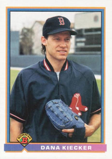1991 Bowman #108 Dana Kiecker VG Boston Red Sox