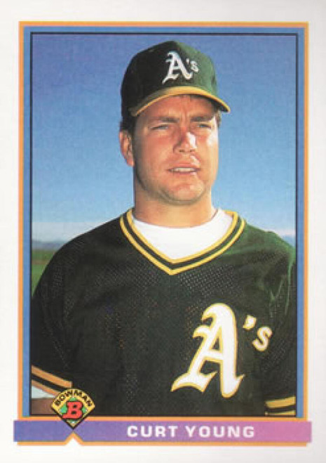 1991 Bowman #220 Curt Young VG Oakland Athletics