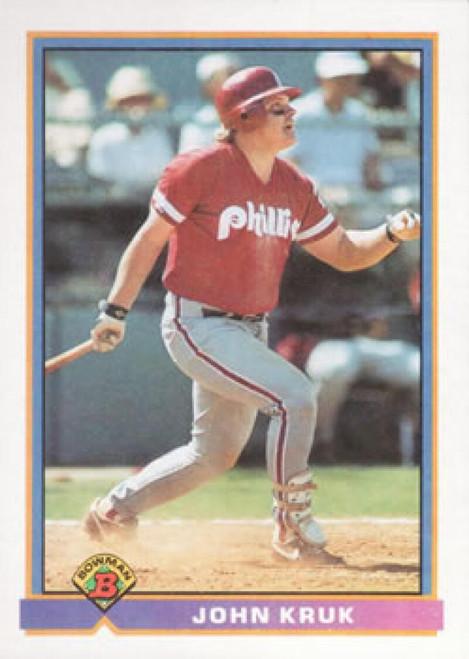 1991 Bowman #503 John Kruk VG Philadelphia Phillies