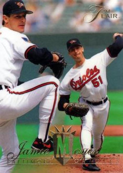 1994 Flair #6 Jamie Moyer NM-MT Baltimore Orioles