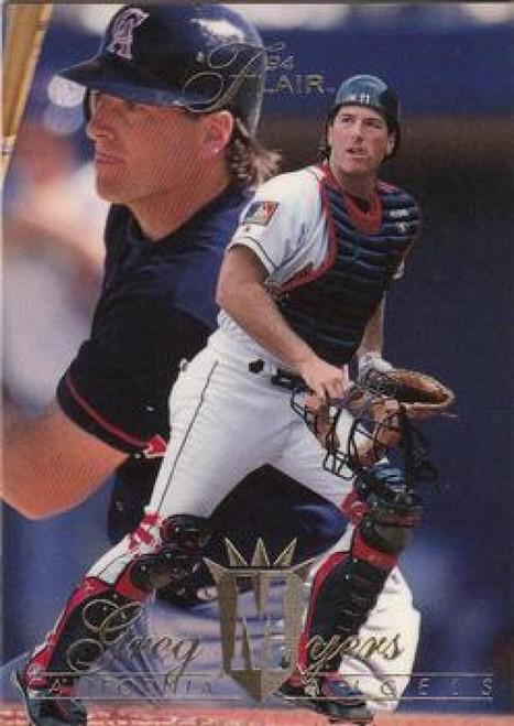1994 Flair #25 Greg Myers NM-MT California Angels