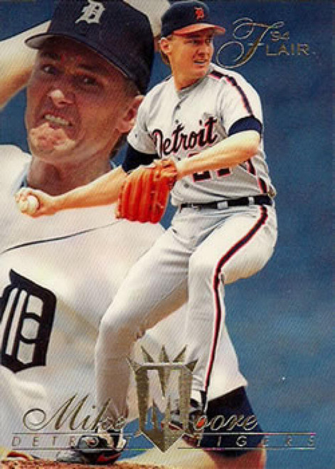 1994 Flair #51 Mike Moore NM-MT Detroit Tigers