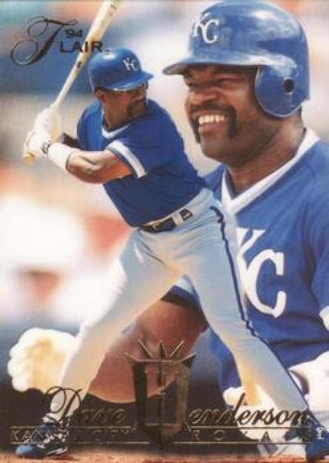 1994 Flair #59 Dave Henderson NM-MT Kansas City Royals