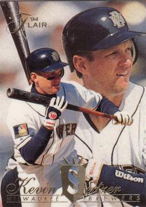 1994 Flair #70 Kevin Seitzer NM-MT Milwaukee Brewers