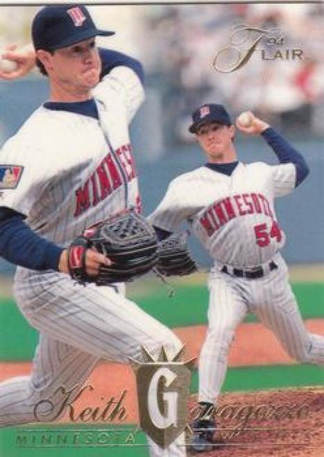 1994 Flair #74 Keith Garagozzo NM-MT RC Rookie Minnesota Twins