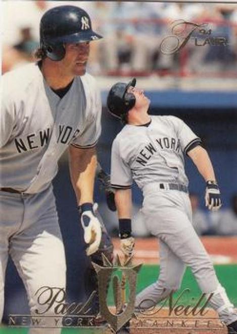 1994 Flair #86 Paul O'Neill NM-MT New York Yankees