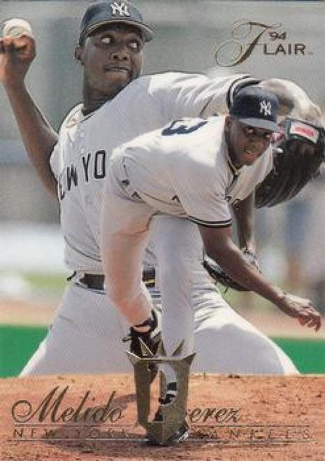 1994 Flair #87 Melido Perez NM-MT New York Yankees
