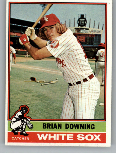 1976 Topps #23 Brian Downing VG Chicago White Sox