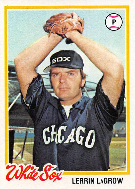 1978 Topps #14 Lerrin LaGrow COND Chicago White Sox