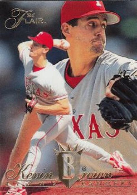 1994 Flair #343 Kevin Brown NM-MT Texas Rangers
