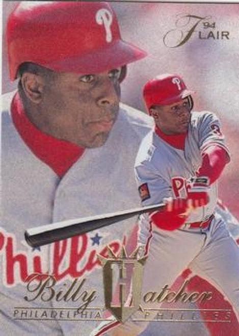 1994 Flair #413 Billy Hatcher NM-MT Philadelphia Phillies