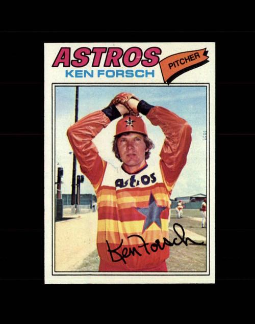 1977 Topps #21 Ken Forsch VG Houston Astros
