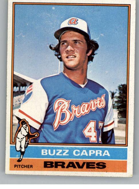 1976 Topps #153 Buzz Capra VG Atlanta Braves