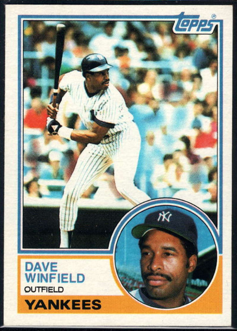 SOLD 16709 1983 Topps #770 Dave Winfield VG New York Yankees