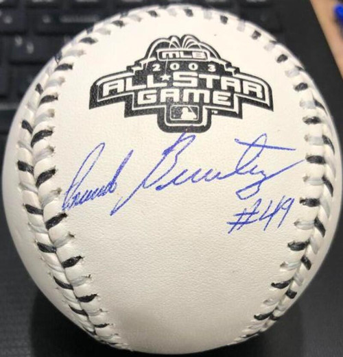 Armando Benitez Autographed 2003 All-Star Game Baseball