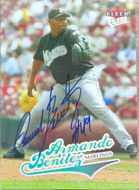 Armando Benitez Autographed 2004 Fleer Ultra #236