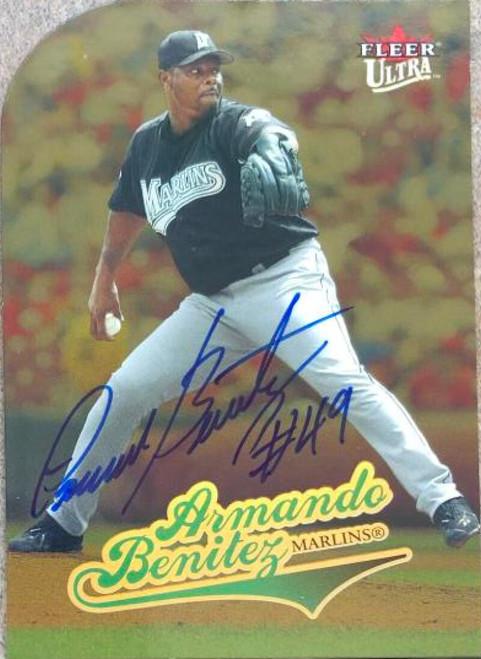 Armando Benitez Autographed 2004 Fleer Ultra Gold Medallion #236
