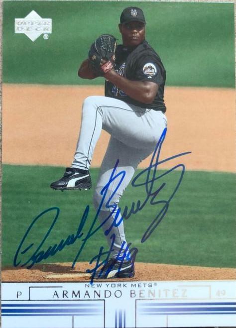 Armando Benitez Autographed 2002 Upper Deck #388