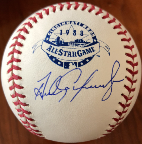 Andres Galarraga Autographed 1988 All-Star Game Baseball