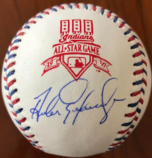 Andres Galarraga Autographed 1997 All-Star Game Baseball
