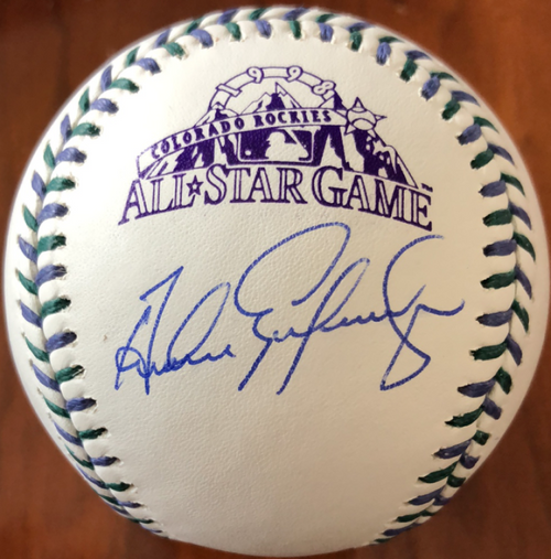 Andres Galarraga Autographed 1998 All-Star Game Baseball