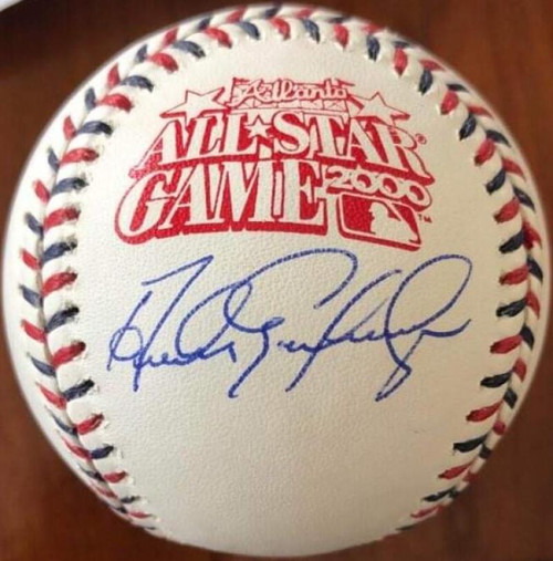 Andres Galarraga Autographed 2000 All-Star Game Baseball