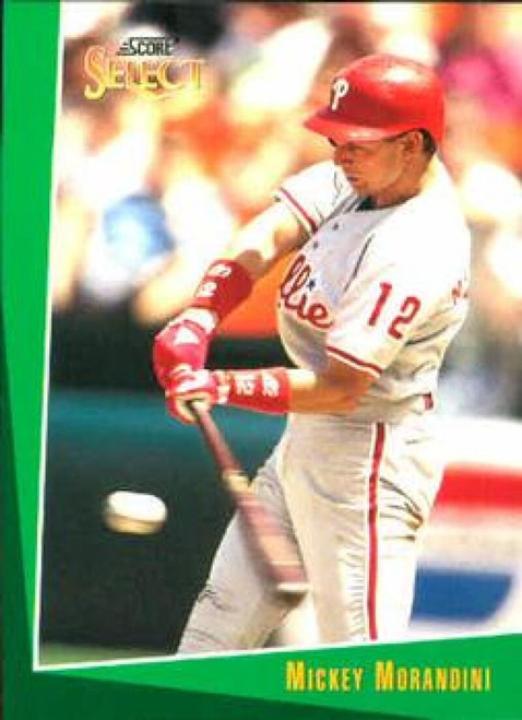 1993 Select #245 Mickey Morandini VG Philadelphia Phillies