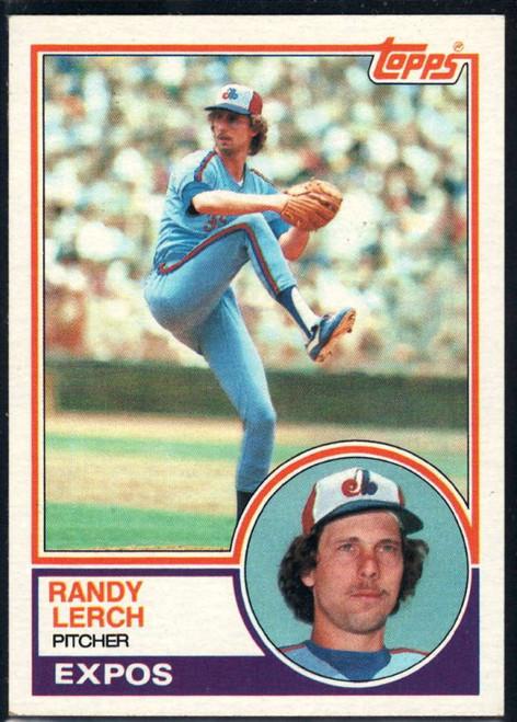 1983 Topps #686 Randy Lerch VG Montreal Expos