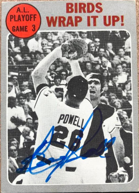 Boog Powell Autographed 1970 Topps #201