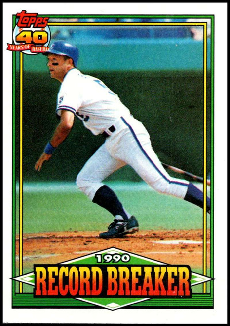 1991 Topps #2 George Brett RB VG Kansas City Royals