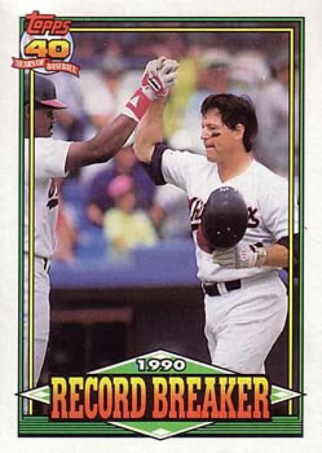 1991 Topps #3 Carlton Fisk RB VG Chicago White Sox