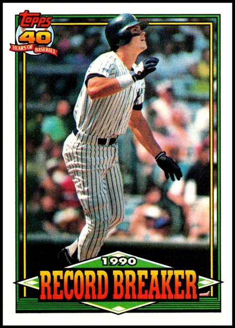 1991 Topps #4 Kevin Maas RB VG New York Yankees