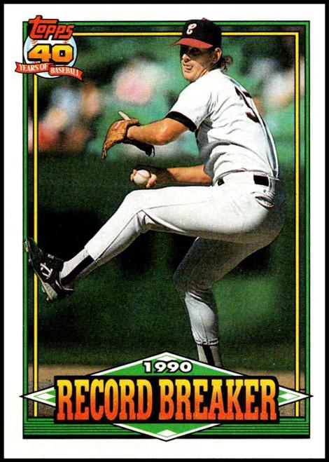1991 Topps #8 Bobby Thigpen RB VG Chicago White Sox