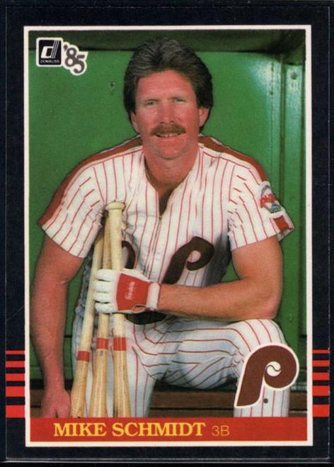 1985 Donruss #61 Mike Schmidt VG Philadelphia Phillies