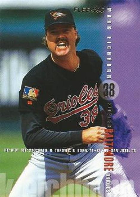 1995 Fleer #5 Mark Eichhorn VG Baltimore Orioles