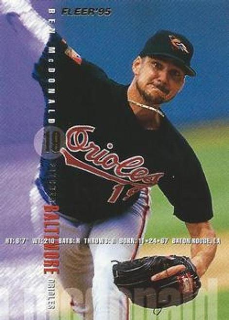 1995 Fleer #11 Ben McDonald VG Baltimore Orioles