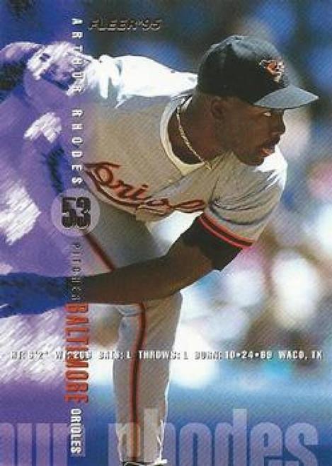 1995 Fleer #18 Arthur Rhodes VG Baltimore Orioles
