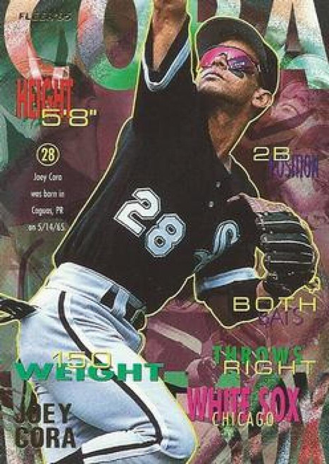 1995 Fleer #113 Joey Cora VG Chicago White Sox