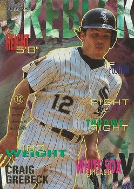 1995 Fleer #117 Craig Grebeck VG Chicago White Sox